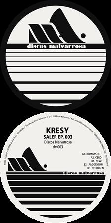 COVER-EP-SALER-EP-KRESY-DISCOS-MALVARROSA Kresy firma 'Saler Ep' en Discos Malvarrosa
