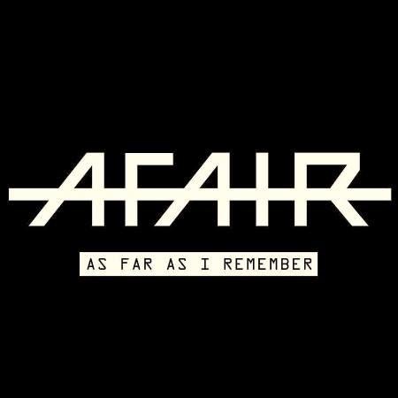 AFAIR-en-EDMred 'As Far As I Remember' es el primer álbum de A.F.A.I.R.