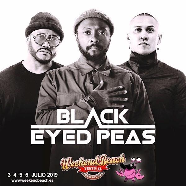 Black-Eyes-Peas-en-Weekend-Beach-Festival-EDMred Black Eyes Peas en Weekend Beach Festival 2019
