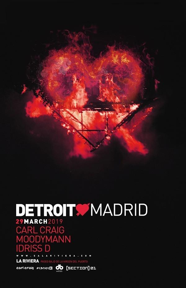 dl Detroit Love llega a Madrid