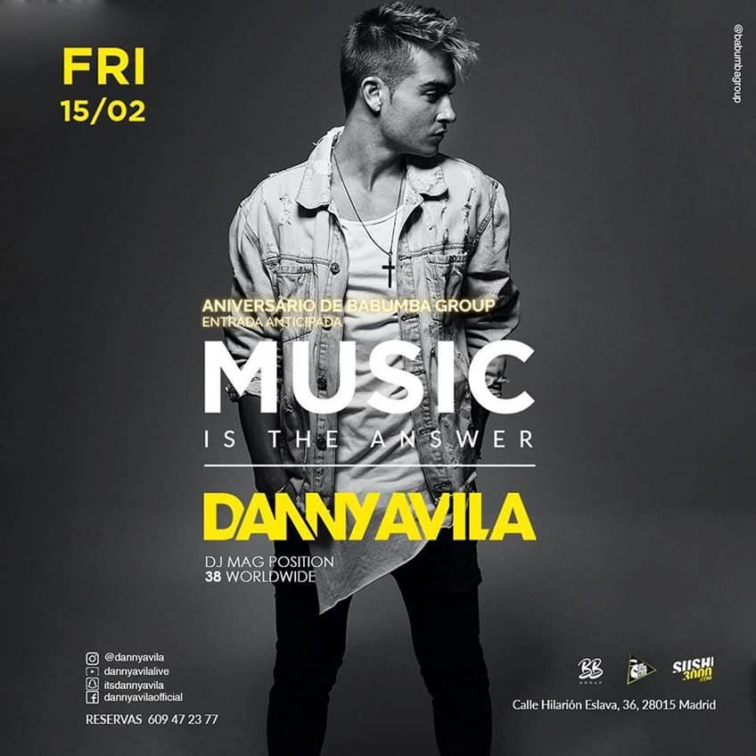 image007 Danny Avila en Madrid este viernes