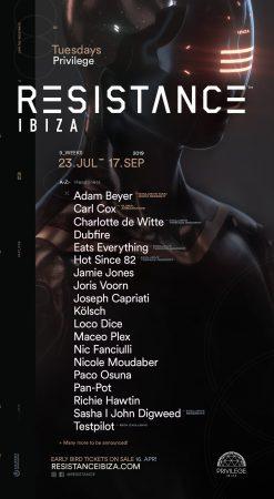 54728410_2852627568346663_8018304277745238016_o-247x450 Resistance Ibiza anuncia takeovers de Drumcode, Maceo Plex y PLAYDifferently