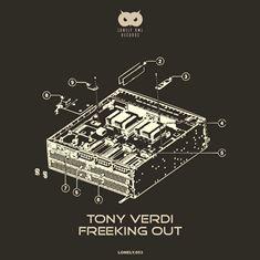 PORTADA-LONLEY-OWL-RECORDS-053 'Freeking Out Ep' es el nuevo trallazo de Techno de Tony Verdi