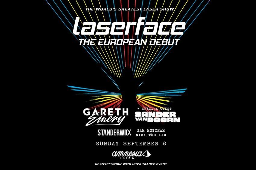laserface-ibiza-amnesia Gareth Emery trae Laserface a Ibiza