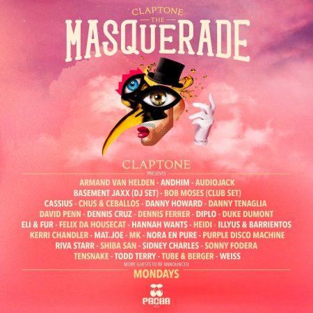 57311562_2141452645891444_5580561199373746176_o-450x450 Claptone anuncia la primera oleada de artistas para 'The Masquerade' en Pacha Ibiza
