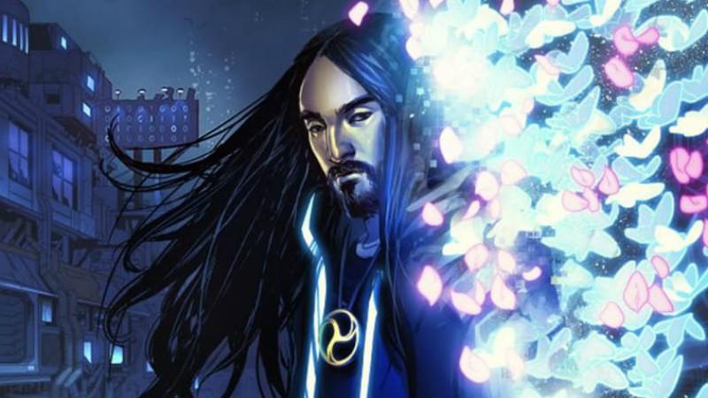 Photo of Steve Aoki lanza 'Neon Future', su cómic