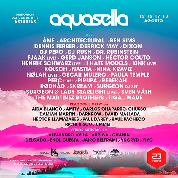 cartel-completo-aquasella-2019 Aquasella Festival cierra el cartel para su 23ª edición