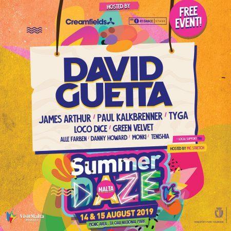 62610669_1213010705542943_3394696009924739072_o-450x450 Summer Daze Malta anuncia nueva tirada de artistas