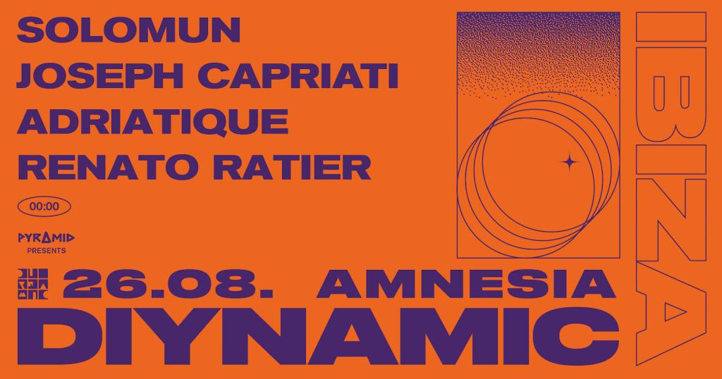 Diynamic-1024x538 Diynamic anuncia showcase en Amnesia Ibiza con Solomun y Capriati