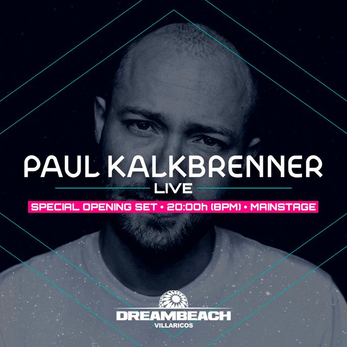 EAu_dhoXYAENnpP Paul Kalkbrenner abrirá Dreambeach 2019