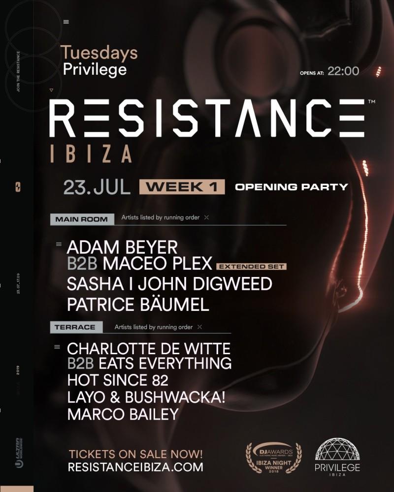 cartel-opening-resistance-2019-EDMred Opening Party RESISTANCE Ibiza 2019