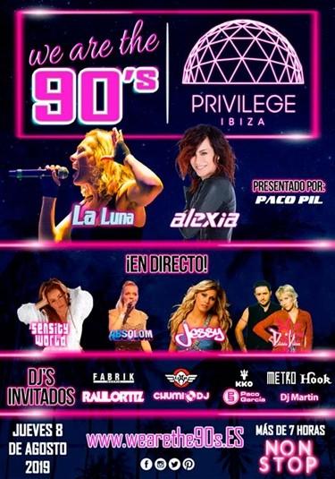 cartel-we-are-the-90s-privilege-ibiza-EDMred We Are The 90's en Privilege Ibiza