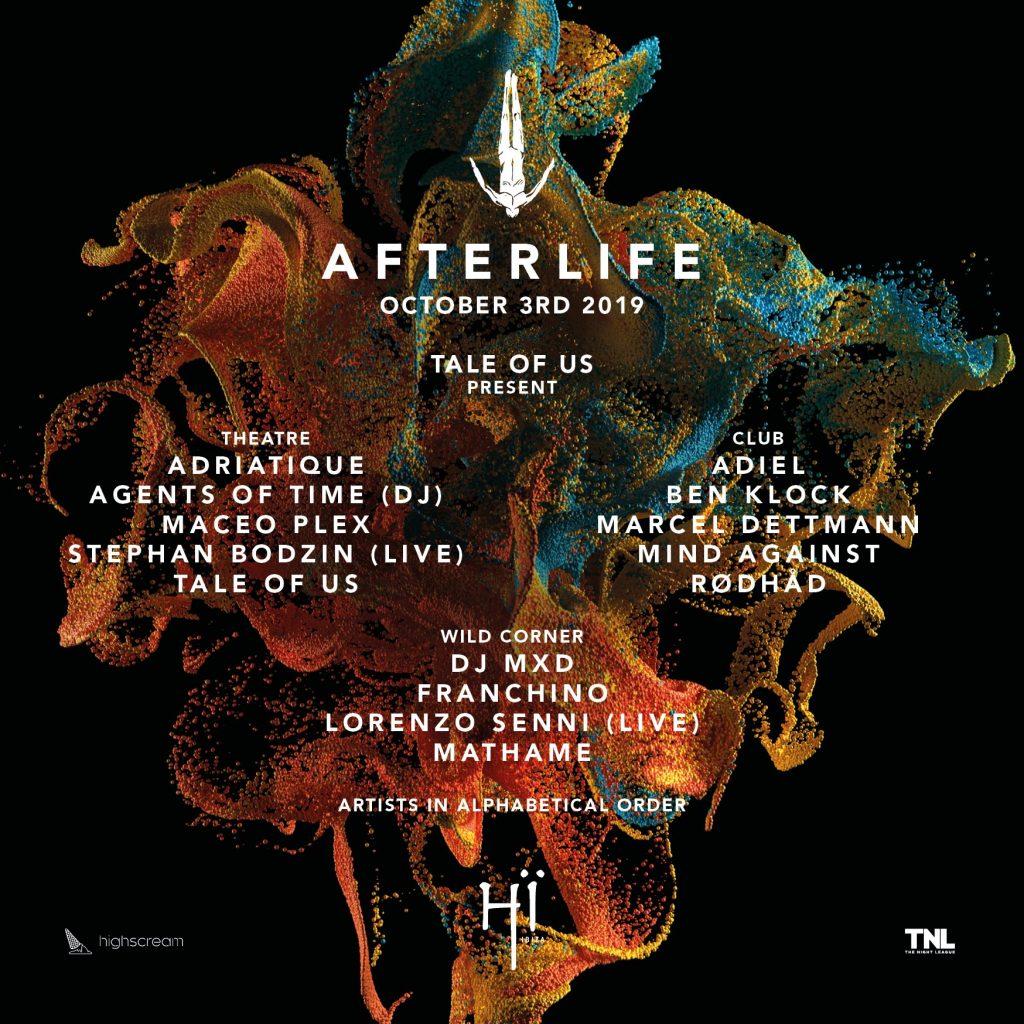 EDEVV8aWkAALLEg-1024x1024 Afterlife revela el Line Up de la última fiesta de la temporada en Hi Ibiza