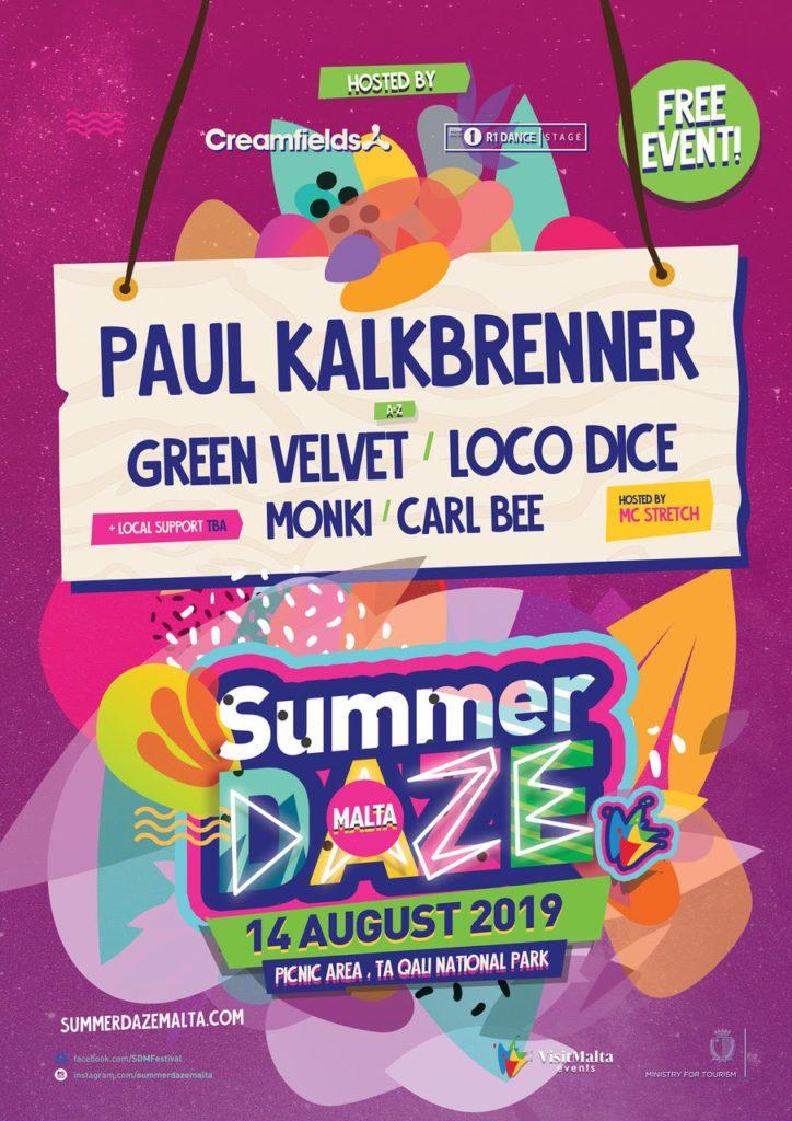 Summer-Daze-Da1-724x1024 Summer Daze Malta da el banderazo de salida