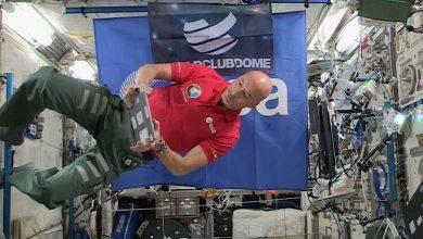 Luca Parmitano, primer DJ en pinchar en el Espacio