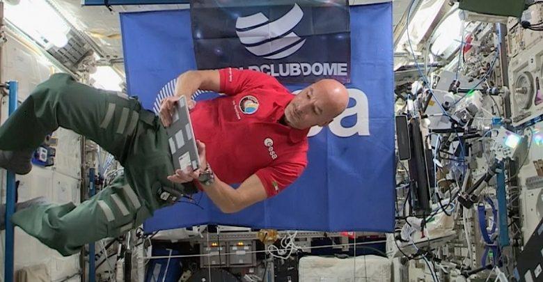 Photo of El primer DJ set en el espacio