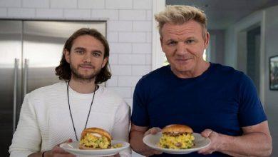 Photo of Zedd colabora con Gordon Ramsay en la cocina