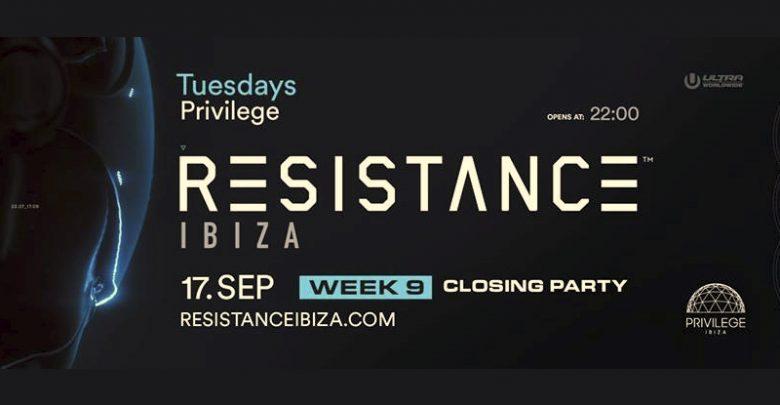 Photo of Closing RESISTANCE Ibiza 2019