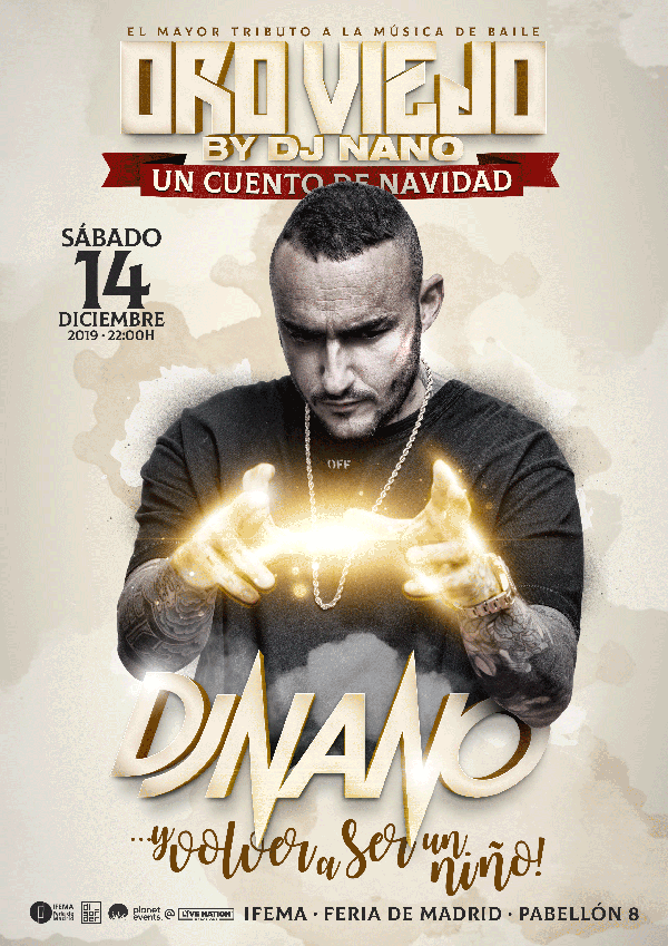 Oro-Viejo-by-Dj-Nano-2019 Oro Viejo by Dj Nano vuelve a Madrid