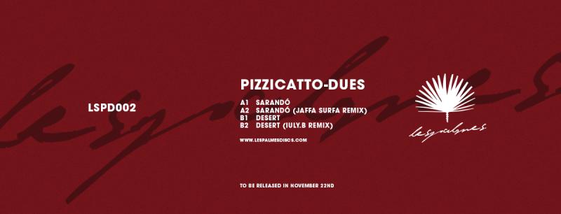PORTADA-LESPALMES-002 PIZZICATTO DESCUBRE 'DUES EP'