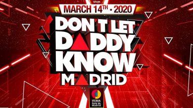 Photo of Don´t Let Daddy Know Madrid presenta su cartel completo.