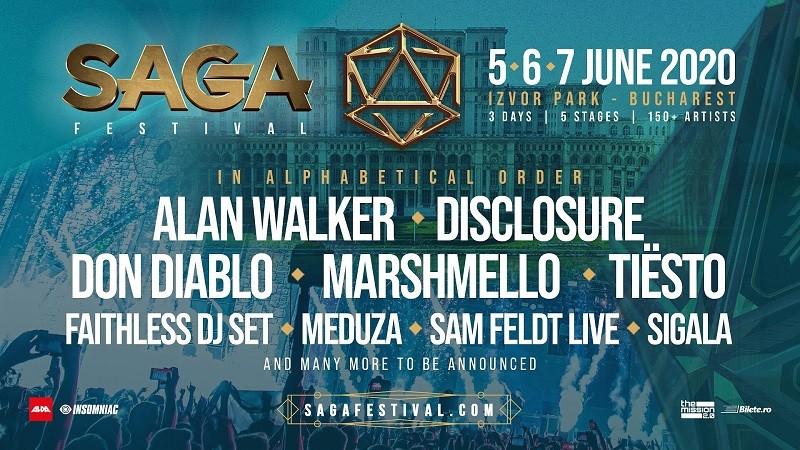 SAGA Festival Bucarest