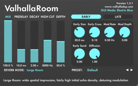 valhalla-gui_0004_Room-Eary-525x329-1 El TOP10 plugin de producción para Clambake & Rav3era
