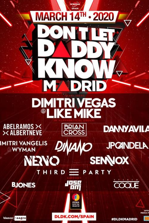 Cartel-Dont-Let-Daddy-Know-Madrid-2020-EDMred Don´t Let Daddy Know Madrid presenta su cartel completo.
