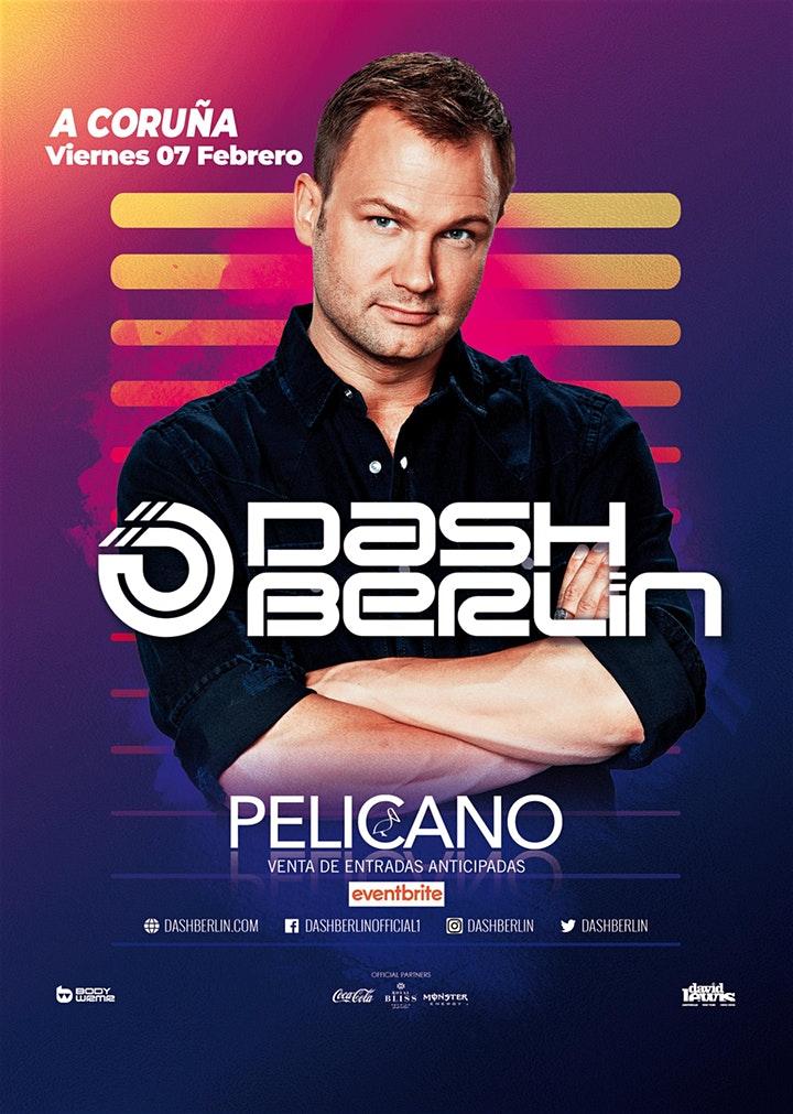 Das-Berlin_Pelicano_cartel Dash Berlin visitará la sala Pelícano