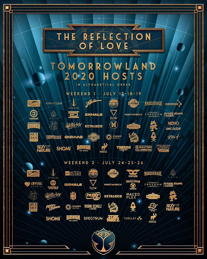 Tomorrowland-2020-stage-hosts Tomorrowland 2020 > Cartel, noticias e info actualizada