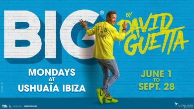 Photo of Big by David Guetta en Ushuaïa Ibiza