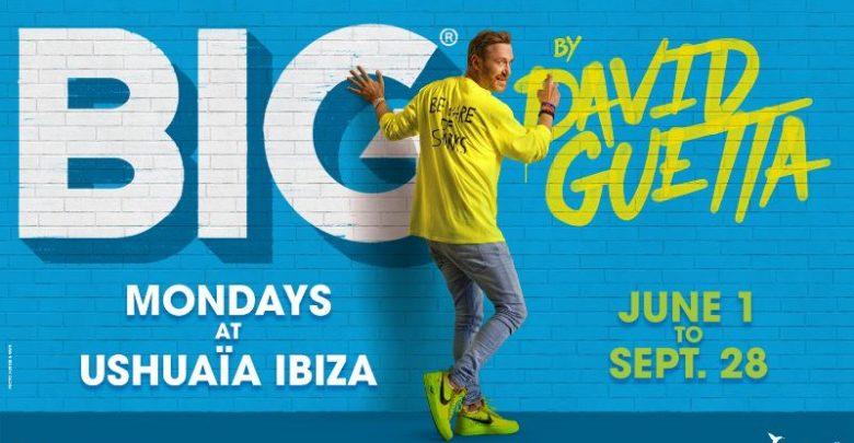 Photo of Big by David Guetta en Ushuaïa Ibiza