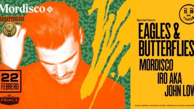 Photo of Eagles & Butterflies es el nuevo invitado de Mordisco Club