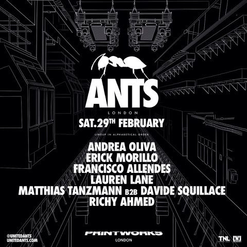ants [Crónica] ANTS se corona en Printworks London con Sold Out