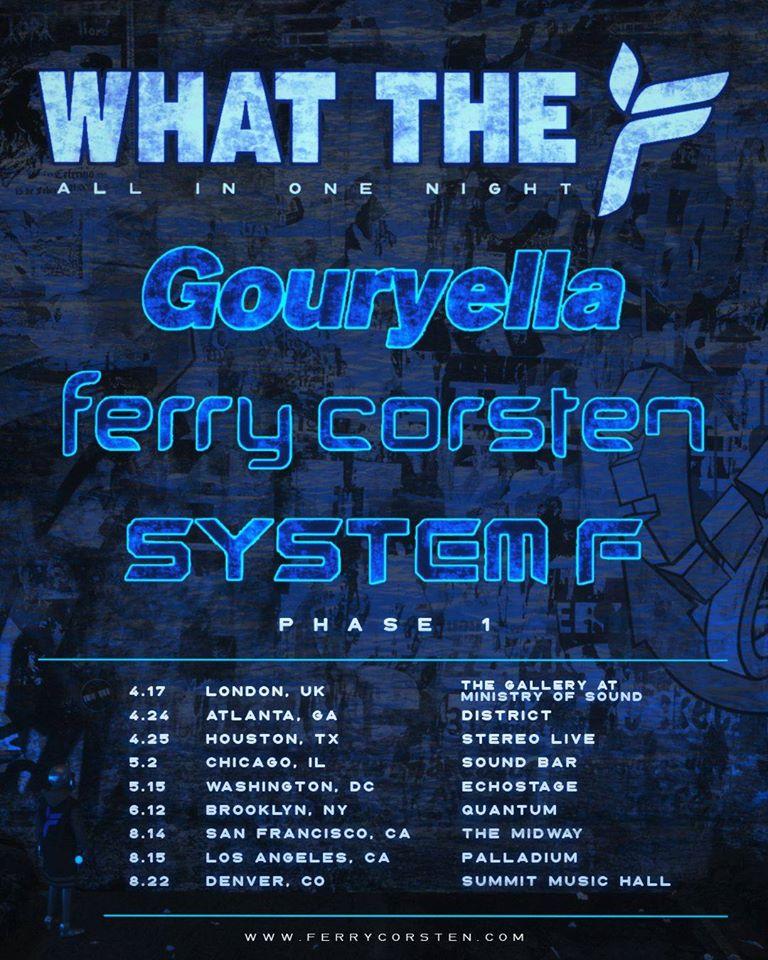 what_the_f_ferry_corsten_tour 'What The F' el nuevo tour de Ferry Corsten