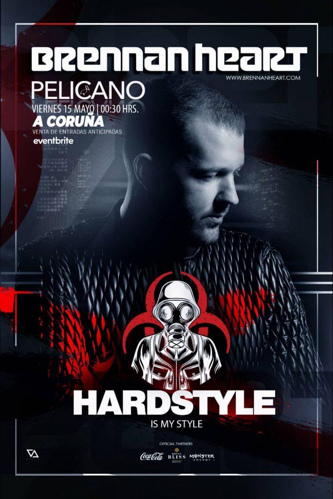 Brennan-Heart-15-de-mayo-684x1024 Brennan Heart lleva el Hardstyle a Sala Pelicano