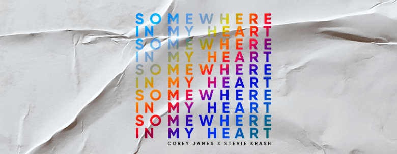 Photo of Corey James y Stevie Krash se unen para lanzar 'Somewhere In My Heart' por Size Records