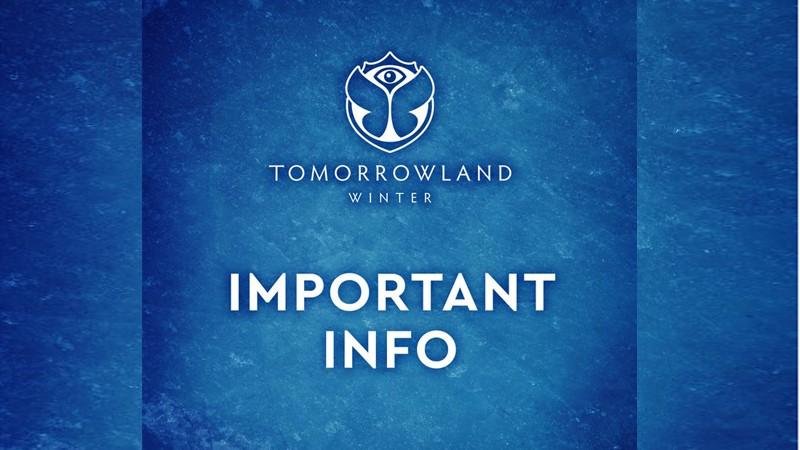 tomorrowland winter cancelado