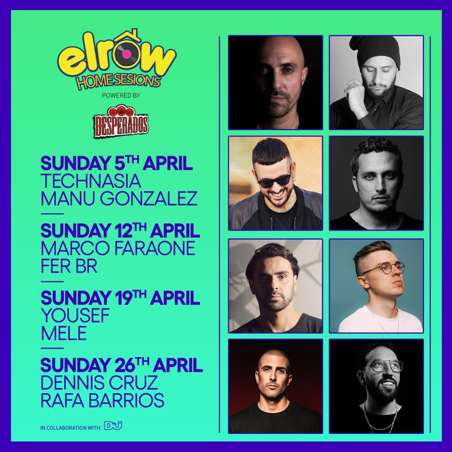 elrow-homesesions-en-EDMred elrow Home Sessions de abril