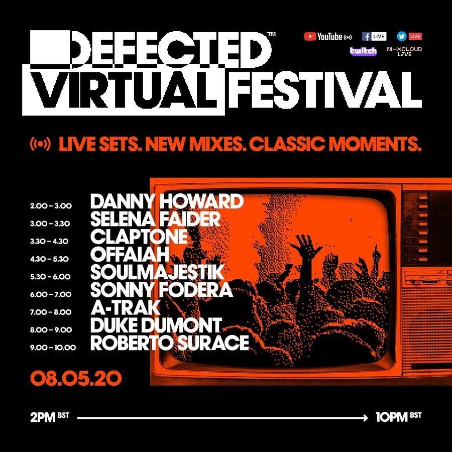 96283700_1308302222693210_1048156695957067767_n Llega la quinta edición de Defected Virtual Festival