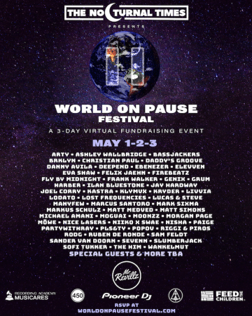 WORLD-ON-PAUSE-360x450 The Nocturnal Times nos trae a partir de hoy 'World On Pause'
