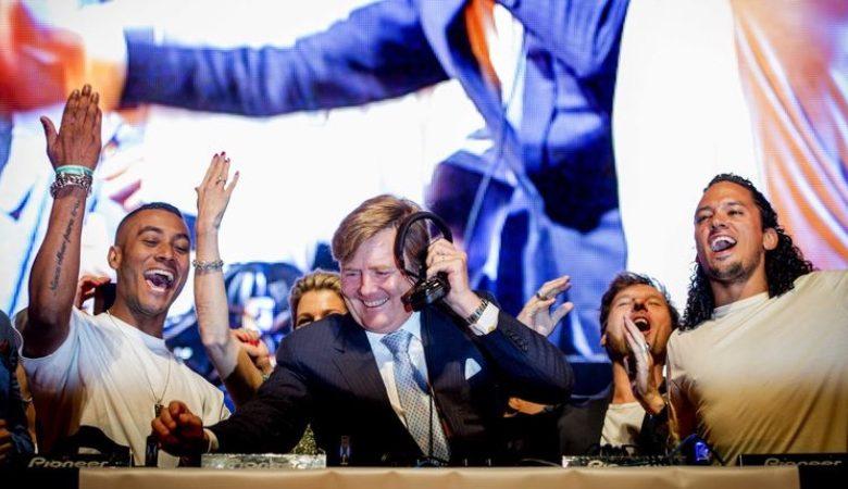 """Photo of Willem-Alexander: """"Los festivales son esenciales"""""""