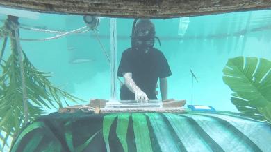 Photo of Chet Porter protagoniza el primer DJ set debajo el agua