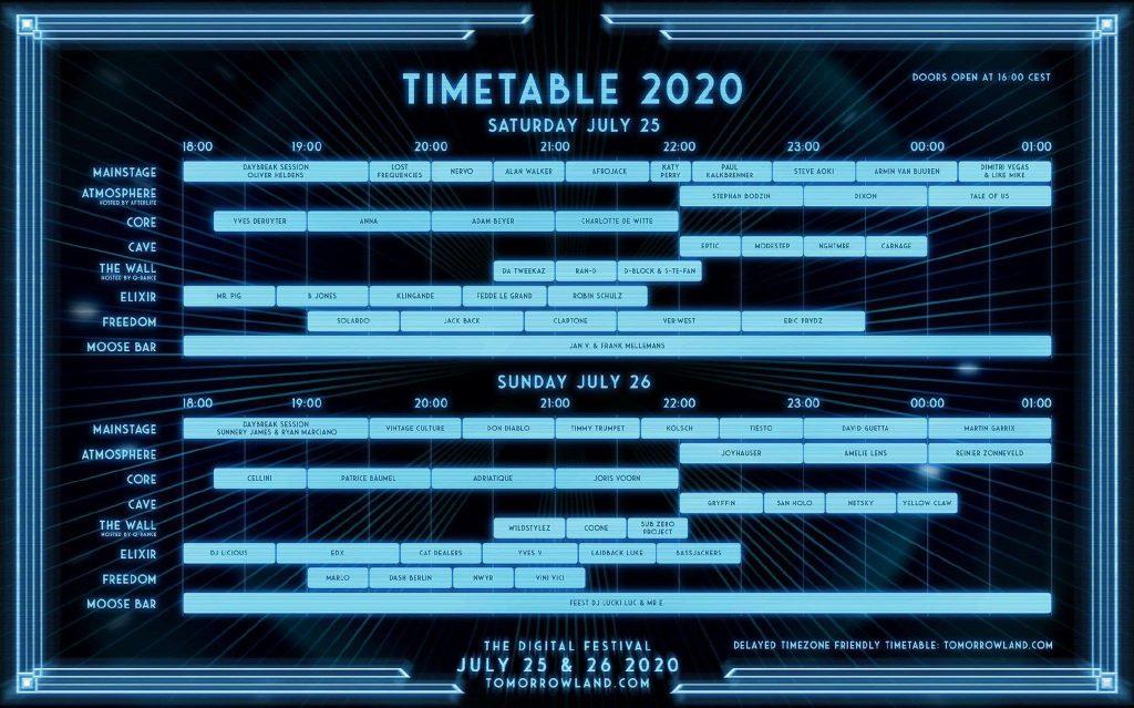 Horarios-Tomorrowland-Around-the-world-2020-EDMred-1024x639 Tomorrowland Around The World 2020: Cartel, info y horarios
