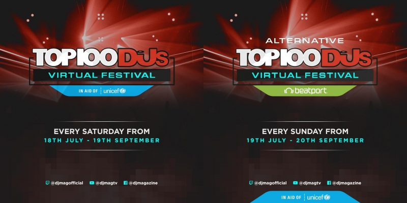 Top_100_Djs_Virtual_Festival_line_up_joined-800x400 Top100 DJs Virtual Festival es la apuesta de DJMag