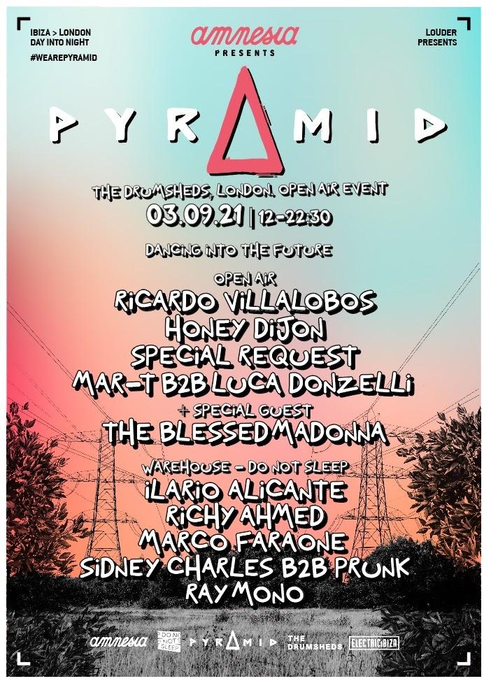 lineup-amnesia-Pyramid-London-en-BeatMix Amnesia presents Pyramid London
