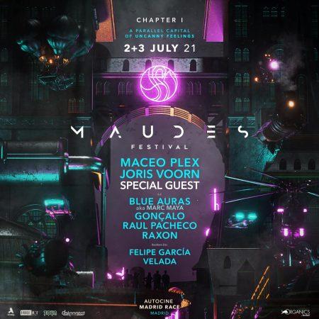 Maudes Festival, vuelve el Techno a Madrid