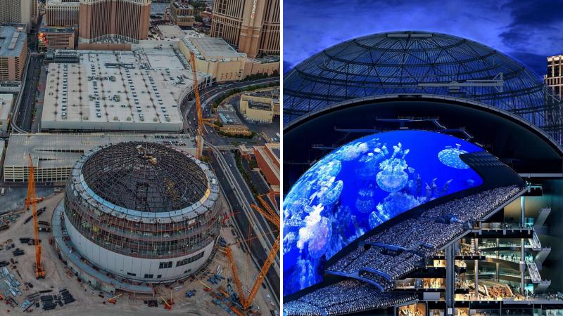 MSG-Sphere MSG Sphere: Las Vegas se pasa su propio juego
