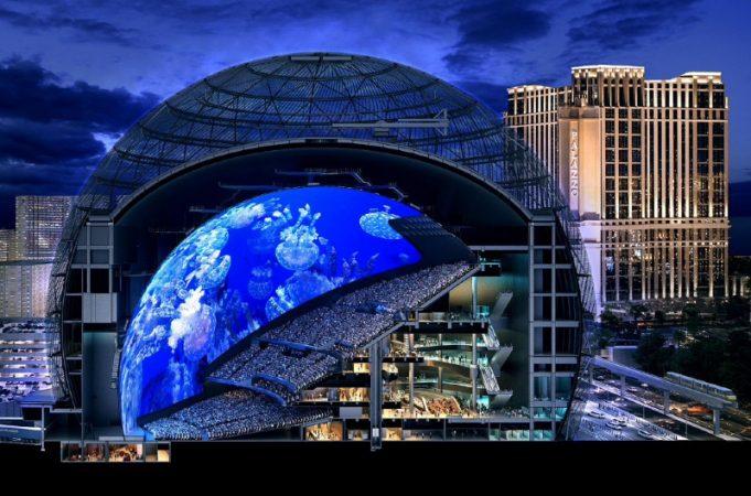 diseno-MSG-Sphere-681x450 MSG Sphere: Las Vegas se pasa su propio juego