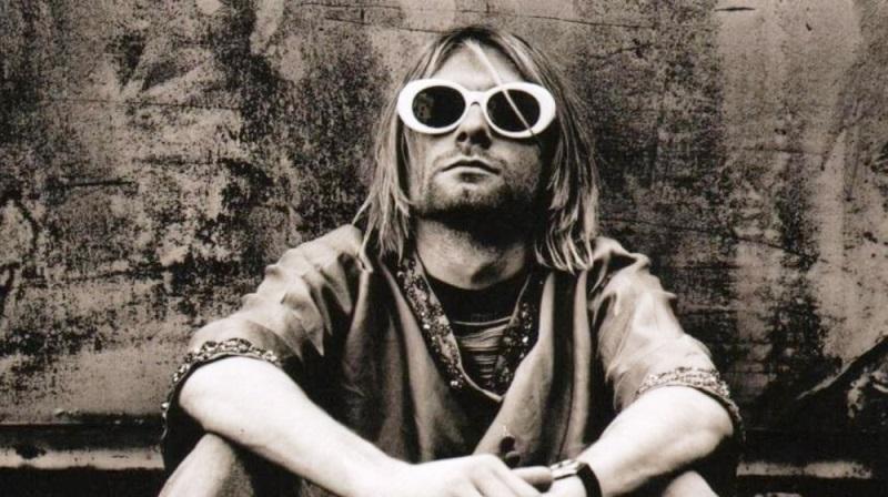 Kurt-Cobain Nirvana reconvertida a la electrónica